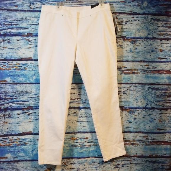 5f883f0e434 NWT  Alfani  Skinny Comfort waist pants